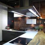 ekspozycja nolte drewniany bar kuchenny