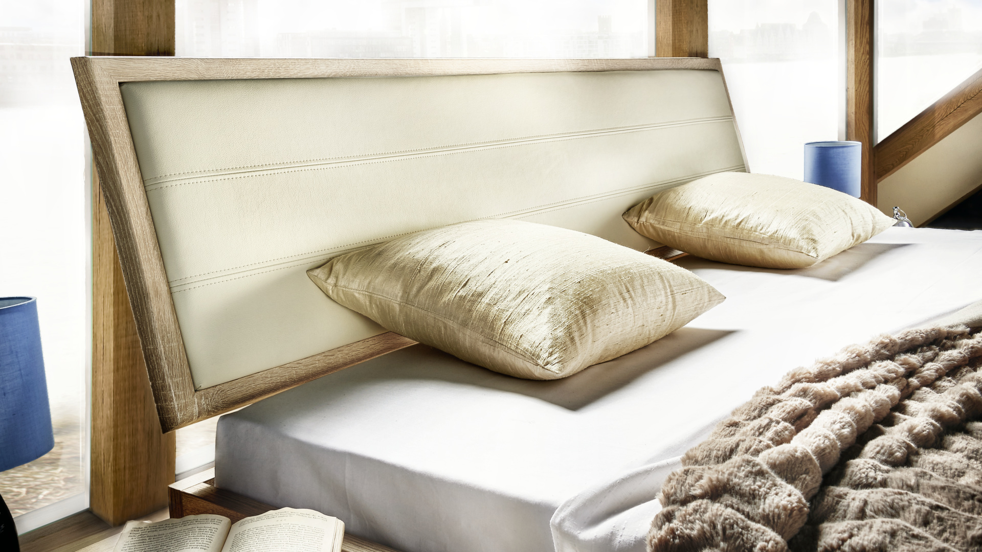 ekskluzywne łóżko niemieckiej firmy nolte