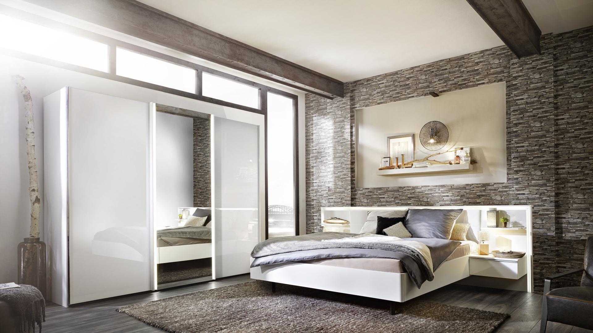 sypialnia z meblami z kolekcji ipanema Nolte