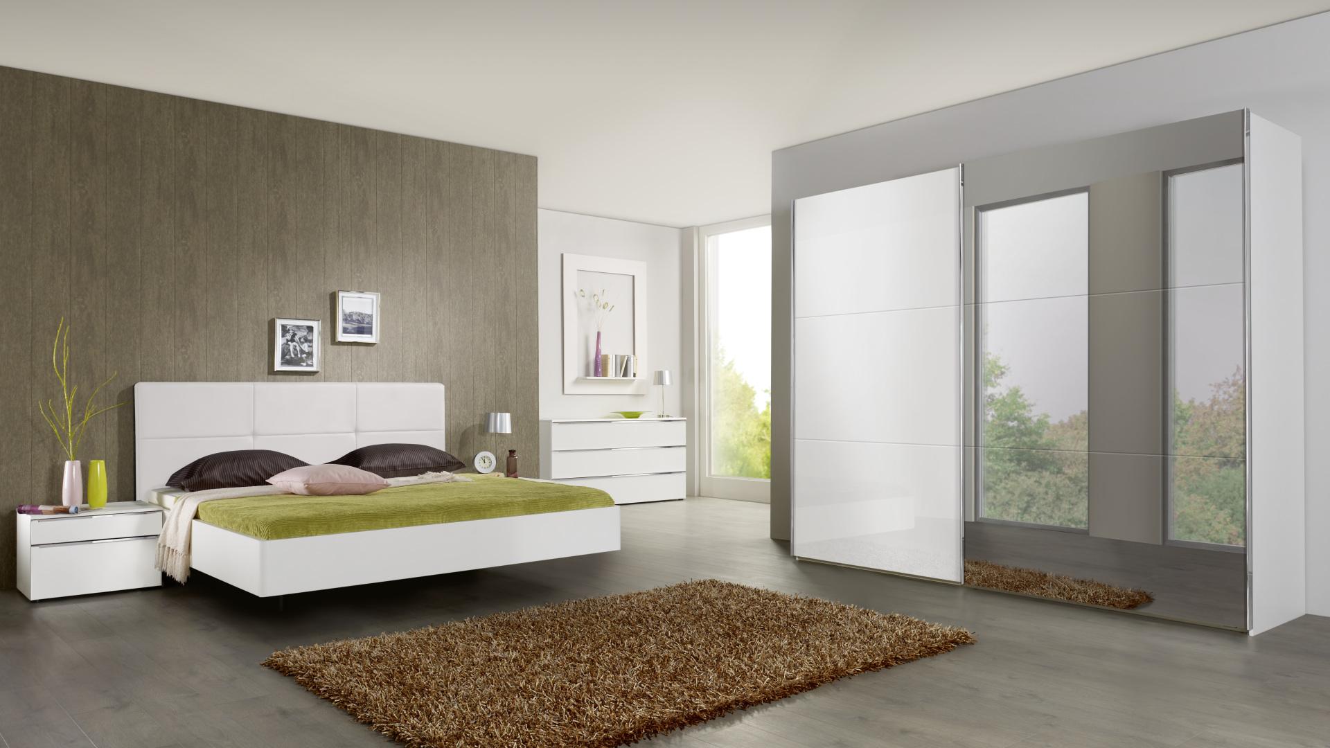 nowoczesna i czysta sypialnia wysokiej jakości