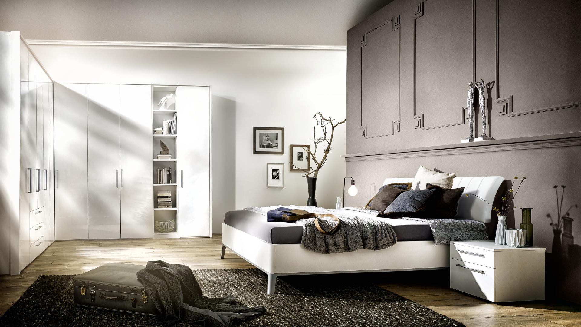 elegancka sypialnia w nowoczesnym stylu nolte