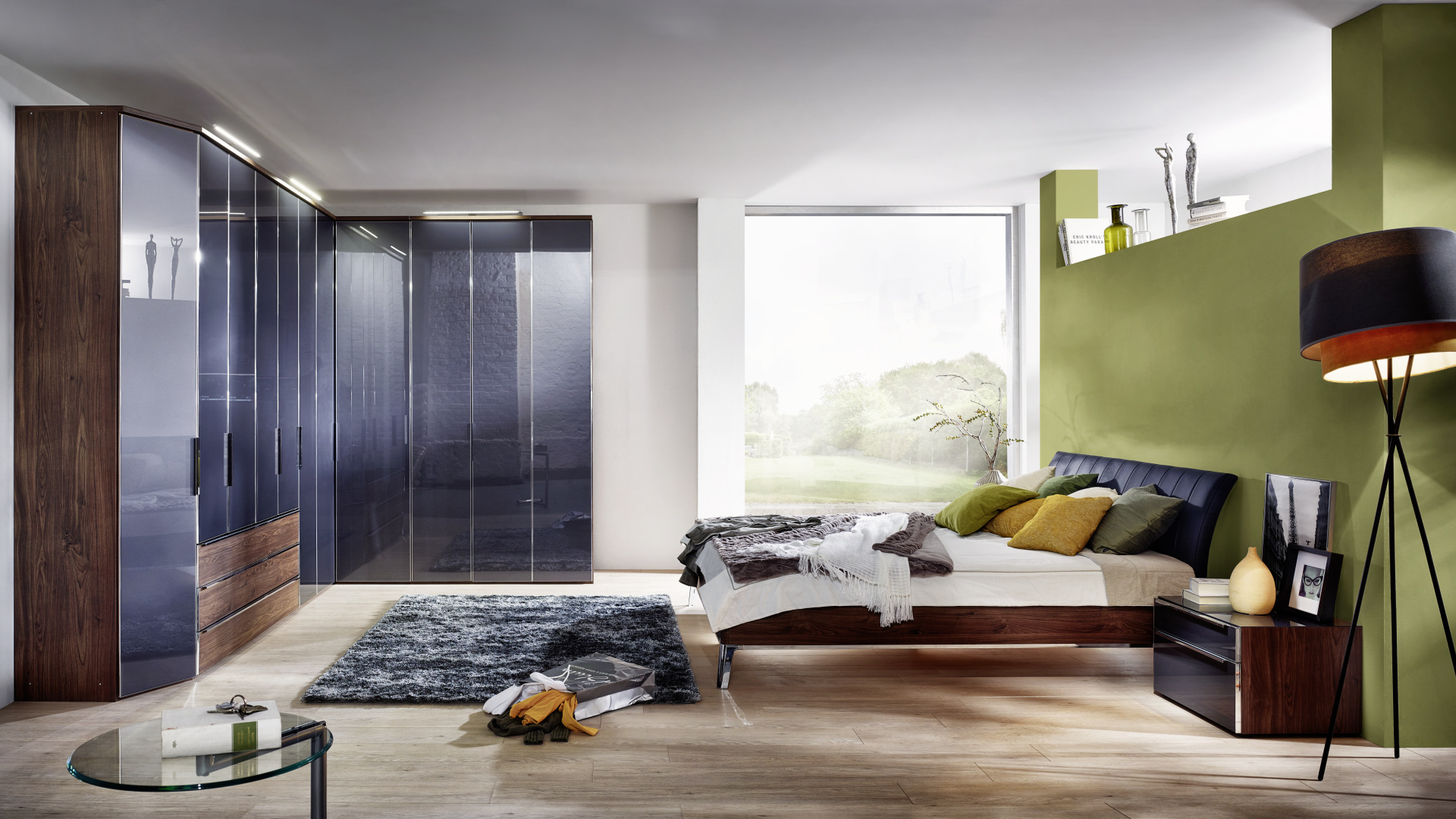 meble w sypialni w nowoczesnym desginie