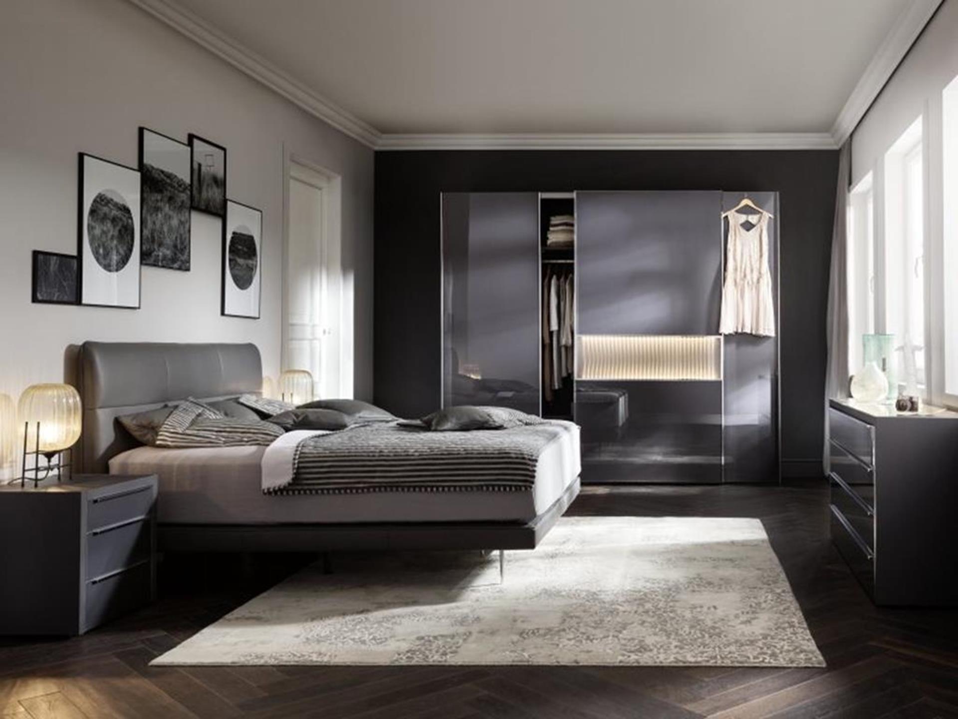 meble w sypialni niemieckiego producenta nolte