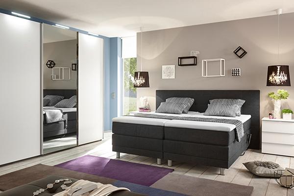 łóżko wolnostojące firmy nolte