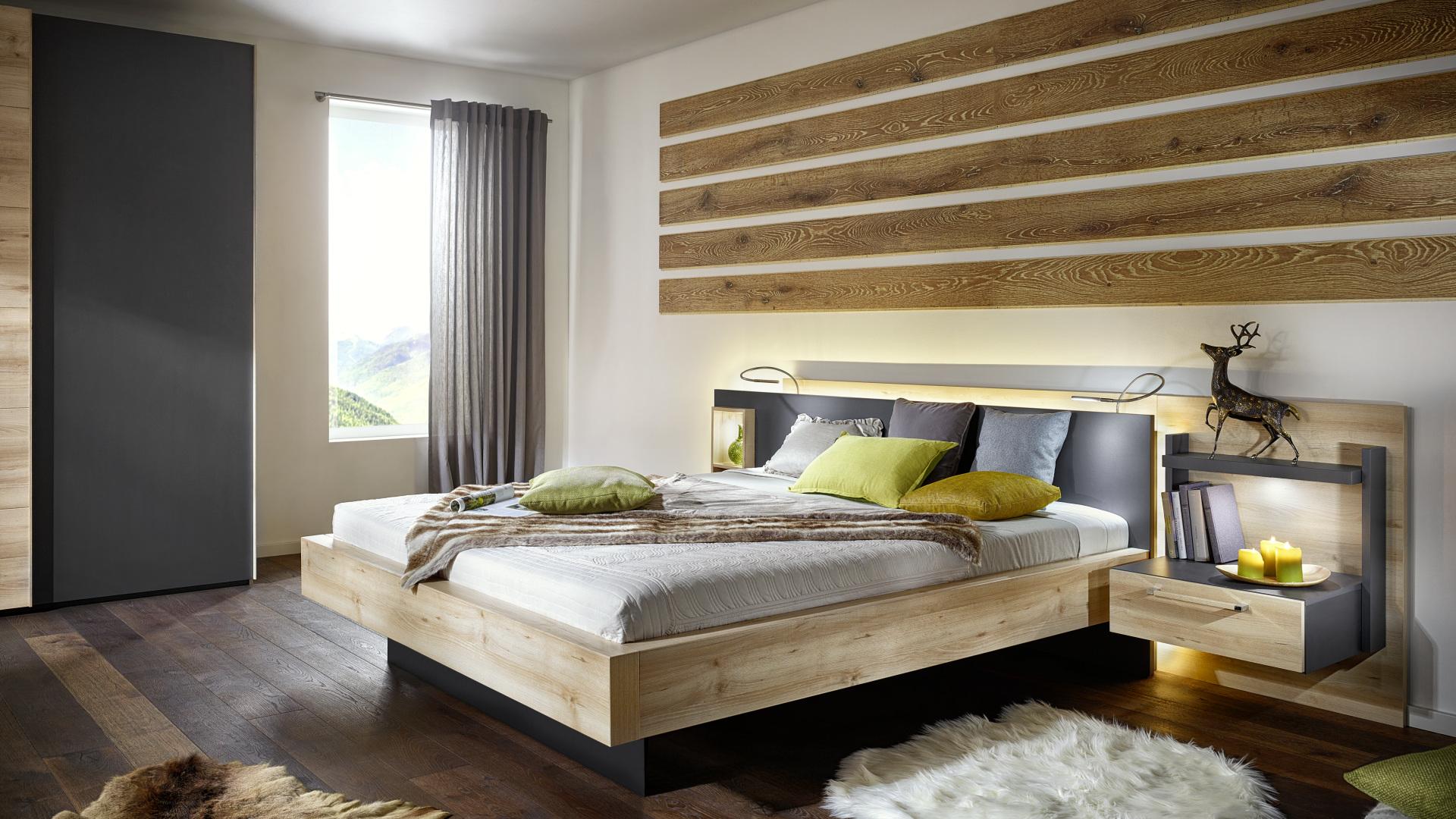 łóżko z drewna made in germany