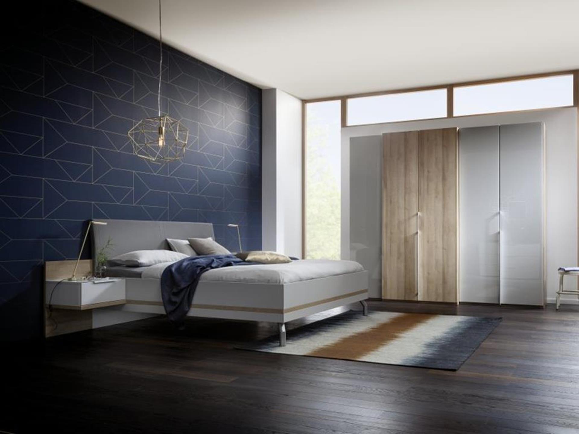 łóżko niemieckiej marki nolte i szafa concept me