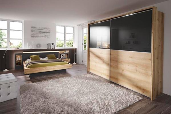 szafa wykonana z drewna w nowoczesnej formie