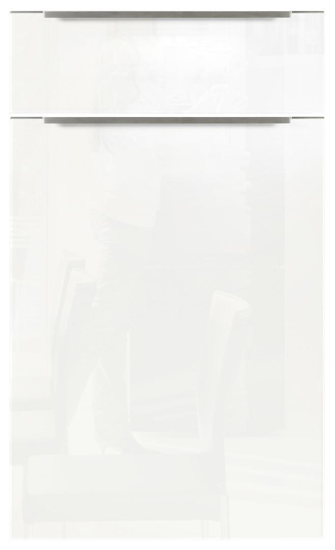 Nolte Kuchen Glas Tec Plus biały połysk