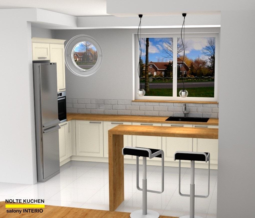 kuchnia połączona z salonem - Nolte Kuchen