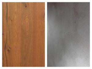 drewno w kuchni - nolte kuchen salony interio