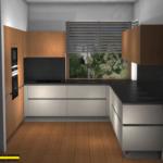 drewno w kuchni - nolte kuchen salony interio projekt kuchni