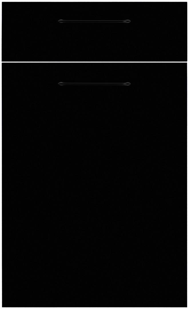 Antifingerprint Schwarz Softmat