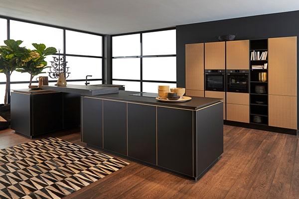 nowoczesny design kuchni w ekstrawaganckim stylu
