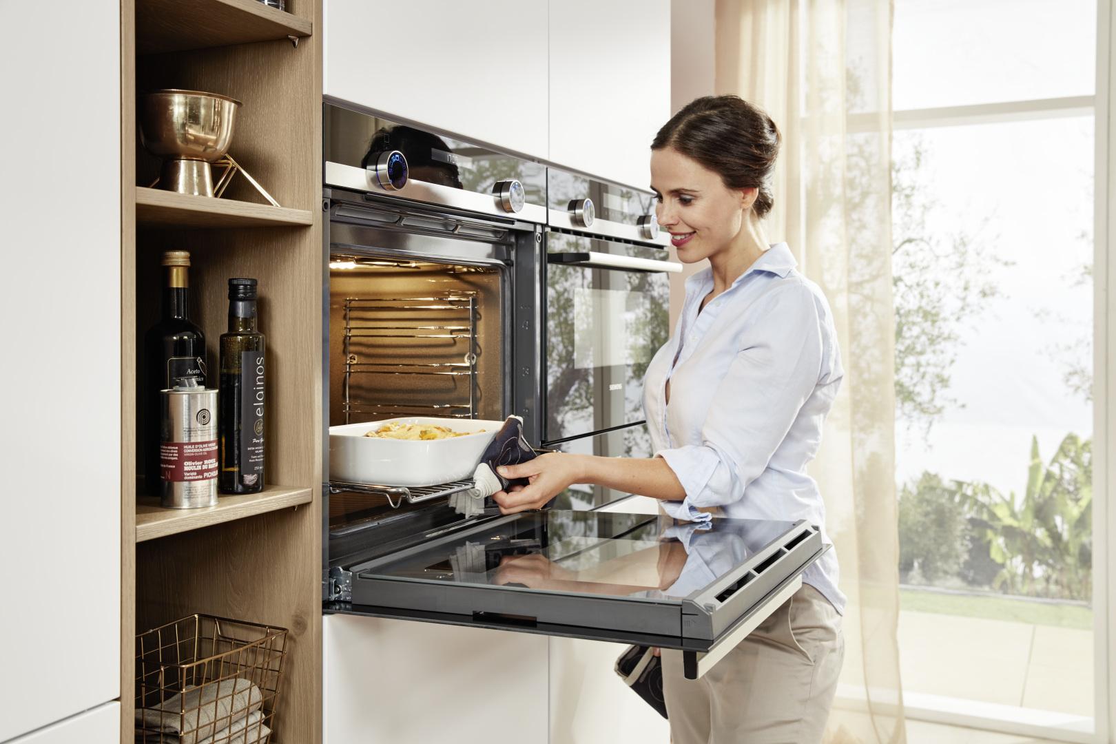 piekarnik zabudowany wysoko - wygoda i ergonomia w kuchni