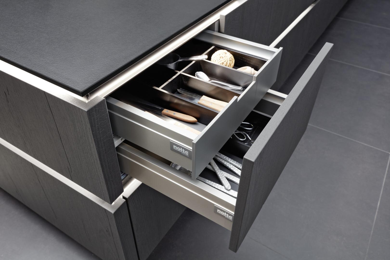 szuflada głęboka i szuflada wewnętrzna nolte