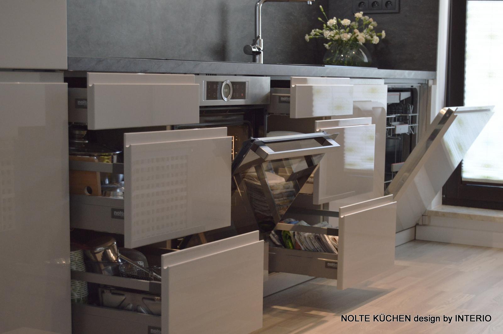 Prosta Kuchnia We Wnęce 35m Kuchnie Nolte Salony Interio