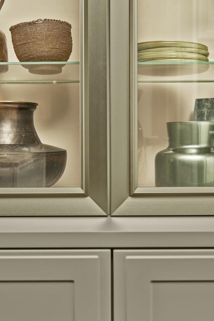 Witryny kuchenne Torino - ramka detal